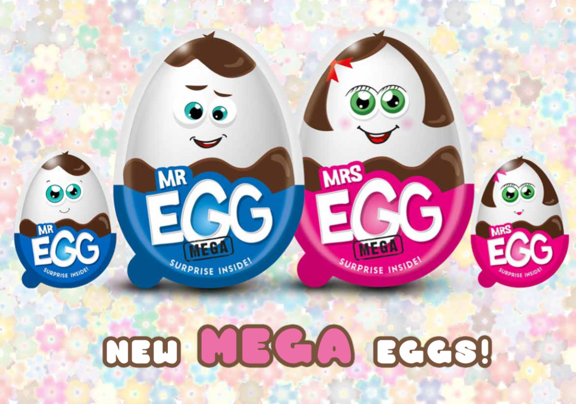 Mr & Mrs Egg MEGA